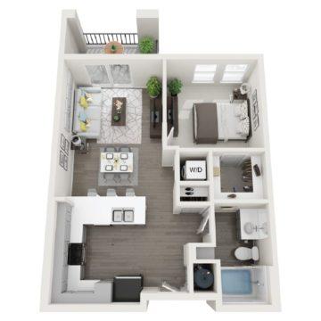 Apartment 148 floor plan