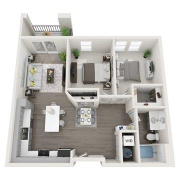 Apartment 152 floor plan