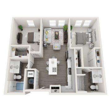 344 floor plan
